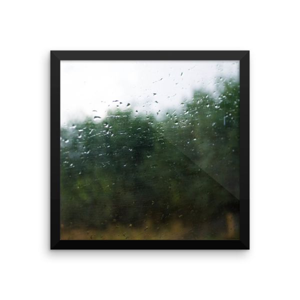 Rain on a Train Window 6