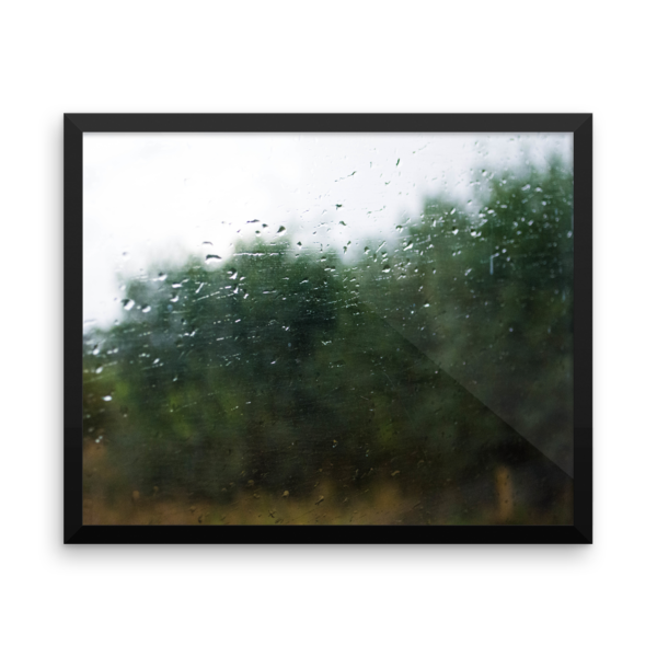 Rain on a Train Window 9
