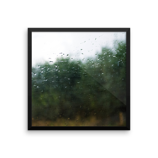 Rain on a Train Window 10