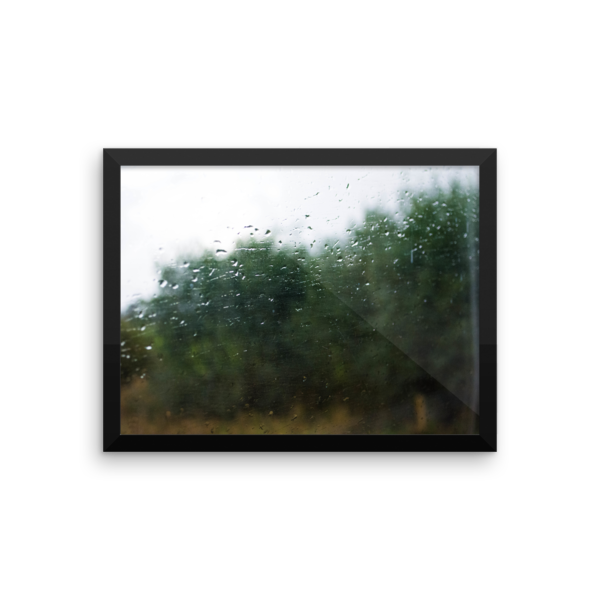 Rain on a Train Window 5