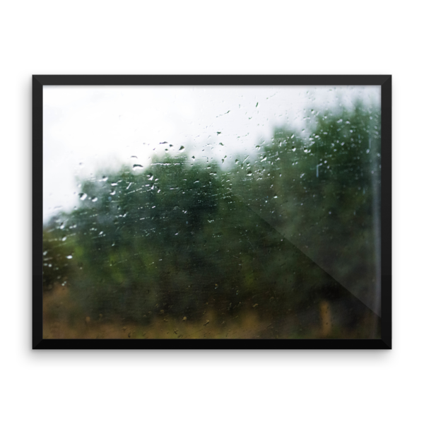 Rain on a Train Window 1